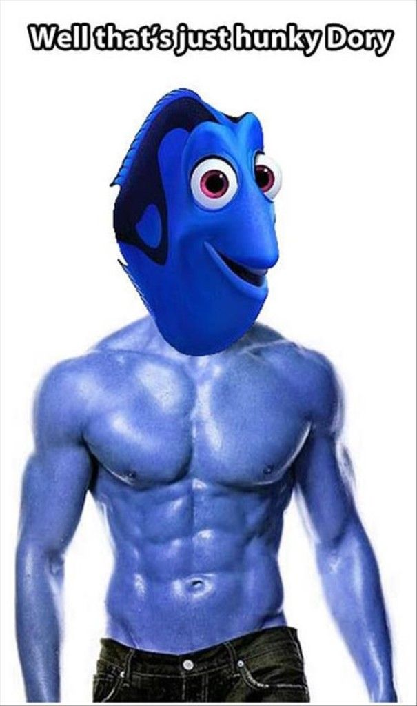 Hunky Dory I'll never think of this saying the same way again!