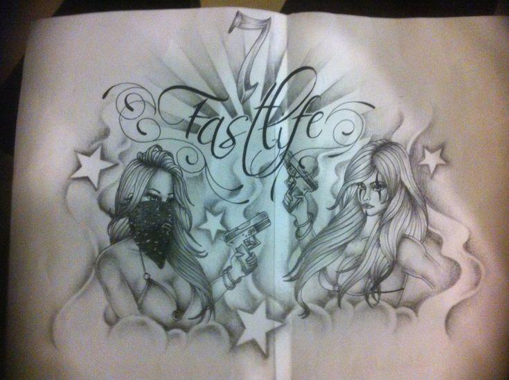 funny gangsta tattoo designs ghost gangsta tattoo on shoulder gangsta tats pinterest. Black Bedroom Furniture Sets. Home Design Ideas