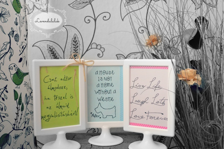 DIY Picture  www.levendulalak.blogspot.hu