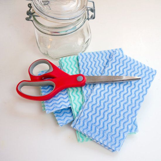 Make Your Own: Eco-Friendly Dryer Sheets I am totally doing this. Afraid to use dryer sheets (carcinogenic) & the rubber dryer balls smell badly after a while. Yay!!