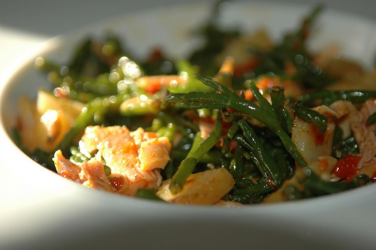 Salades de salicornes & volailles