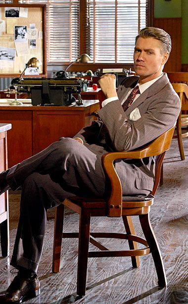 Jack Thompson (Chad Michael Murray) in Marvel's Agent Carter