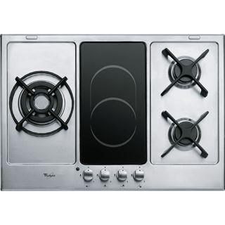 Plaque de cuisson Whirlpool : gaz 3 feux - AKT 759/IX