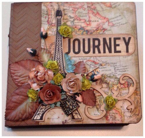 Journey Travel Mini Album By Jen Unger jenungerfinearts.etsy.com