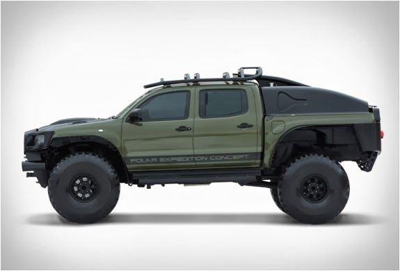 Xplore Vehicles Toyota Tacoma Polar Expedition Truck AUTOKAVLA