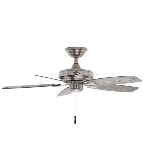 Brushed Nickel Ceiling Fan, Home Depot Outdoor Fans Without Lights
