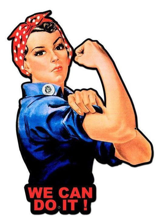 Original Rosie The Riveter - ExtraVital Fasion