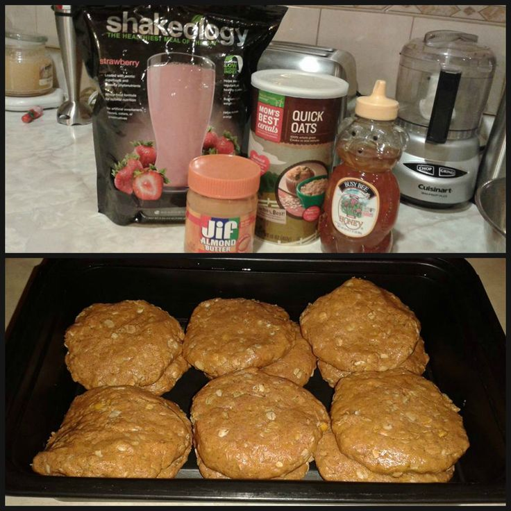 Tropical Strawberry Cookies 1 cup almond butter 1 cup quick-cook oatmeal 1/3 cup honey or agave nectar 1 cup (2.5 scoops) Vegan Tropical Strawberry Shakeology powder Preparation: First, remove any rings you're wearing and was your hands really well. Then combine ingredients in a medium bowl. Roll into balls (about a heaping teaspoon each). Chill before serving.  Optional: Roll in crushed nuts, oatmeal mixed with a little cinnamon, whole-grain graham cracker crumbs, or unsweetened coconut…