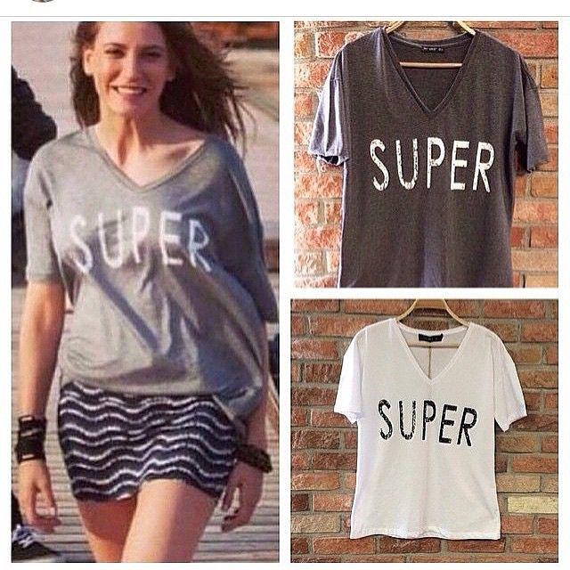 Yaz sokak modası trend tişört modelleri 2015