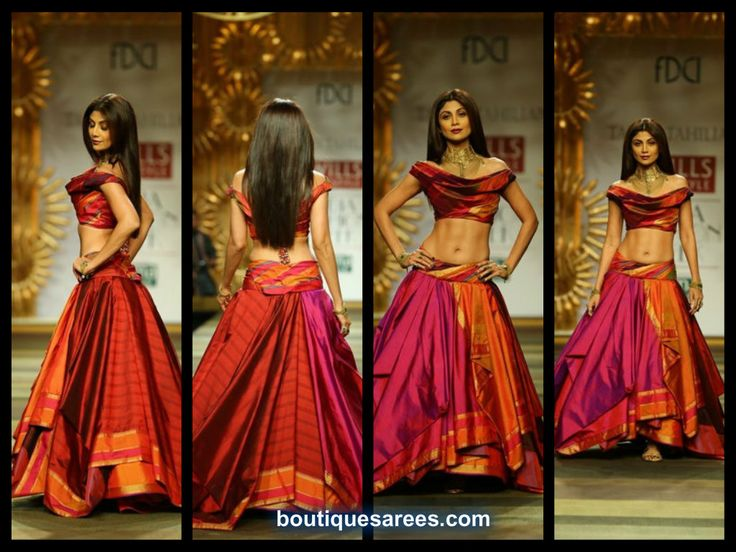 Shilpa Shetty in tarun tahiliani lehenga 2014