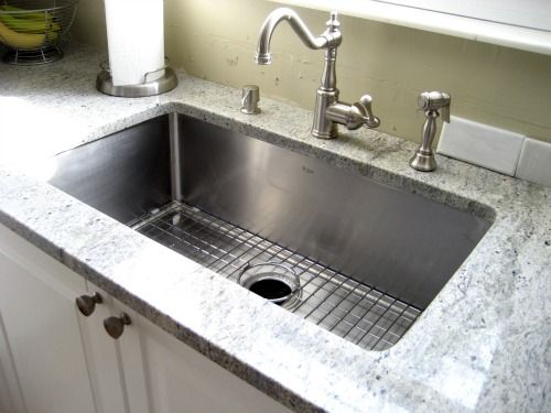 Kraus stainless steel kitchen sinks look amazing in your for High quality kitchen sinks