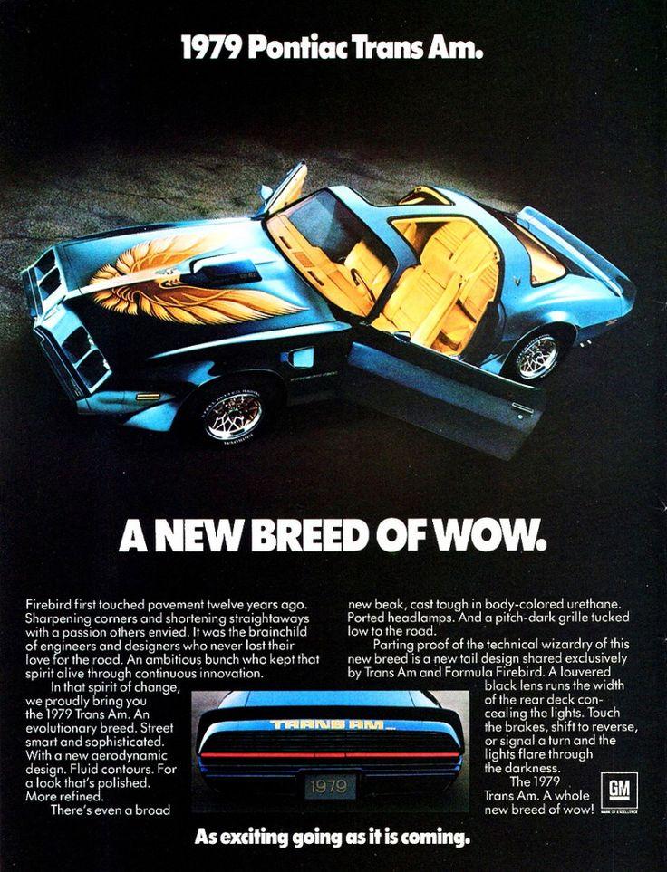 vintage pontiac trans am ads | 1979 pontiac grand prix ad 1980 pontiac trans am turbo ad