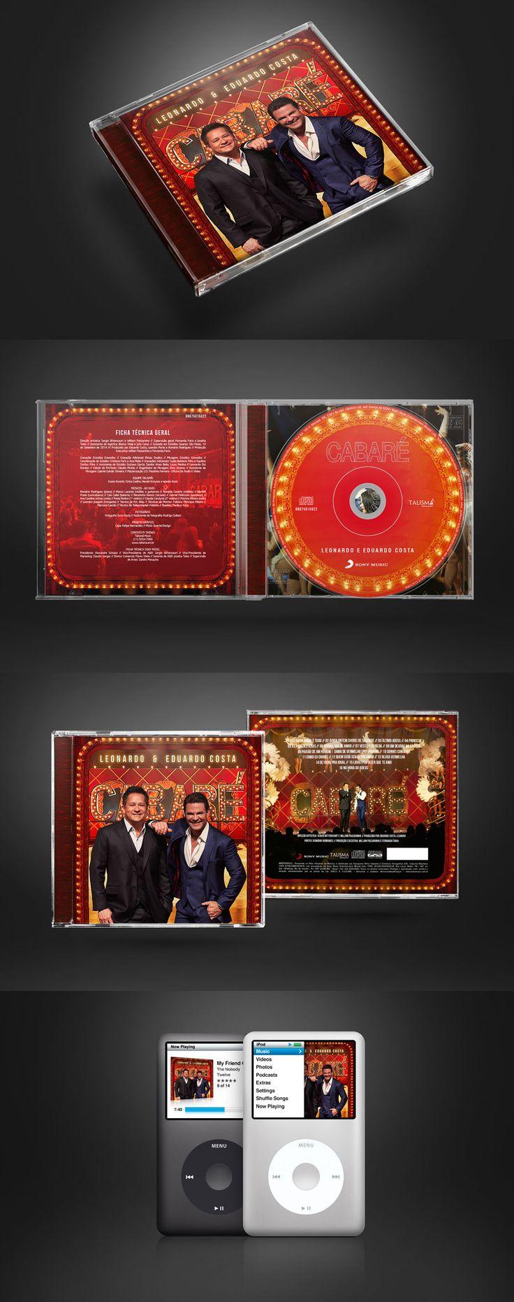 CD Cabaré - Leonardo e Eduardo Costa - Quartel Design - Quartel Design
