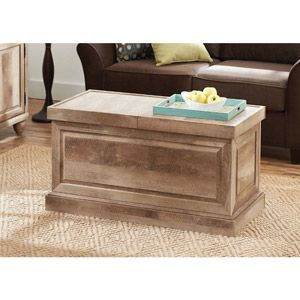 Better Homes And Gardens Crossmill Weathered Collection Coffee Table,  Lintel Oak
