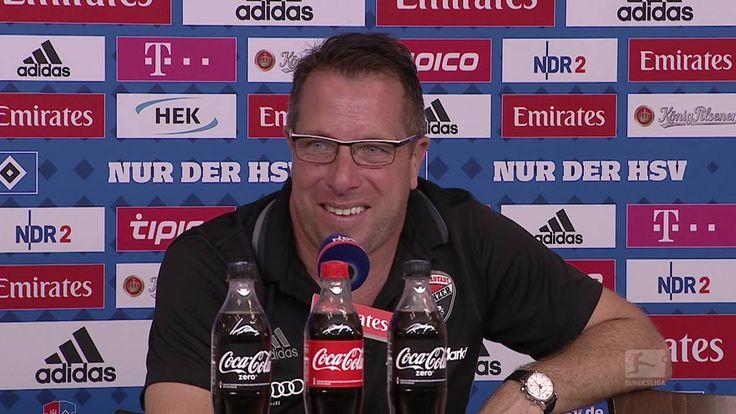 Und dann hatte noch jemand eine ganz spezielle Frage an Markus Kauczinski. Trockener als der Ingolstädter Trainer kann man aber kaum kontern.  FC Ingolstadt 04 | HSV
