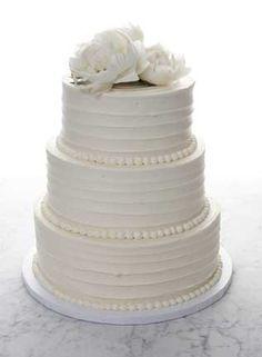/bakednyc/ Wedding Cake--I love that it's all buttercream/no fondant.
