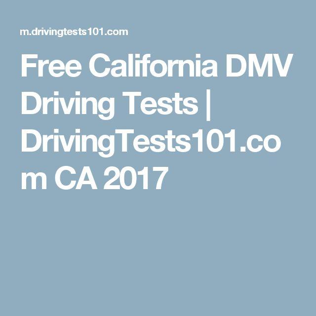 Free California DMV Driving Tests | DrivingTests101.com CA 2017