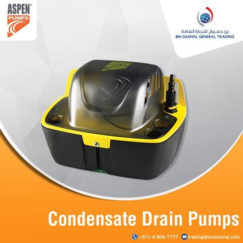 Bin Dasmal General tradind is the most popular condensate drain pump suppliers in uae. The best brands are preferred for multiple condensate drain pump applications.