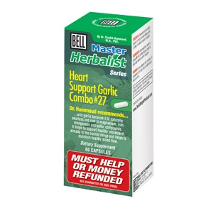 Bell Heart Support Garlic Combo. It helps to maintain healthy cholesterol and blood pressure levels in the normal range. At The Health Garden for $20.99