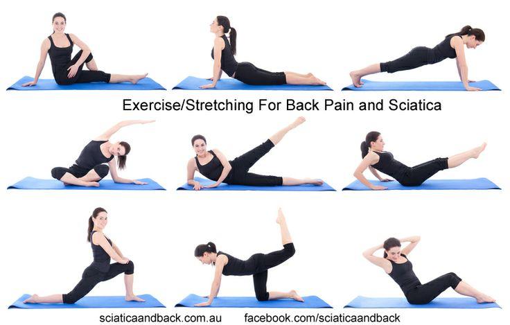 Exercises For Sciatica: Yoga Exercises For Sciatica Pain