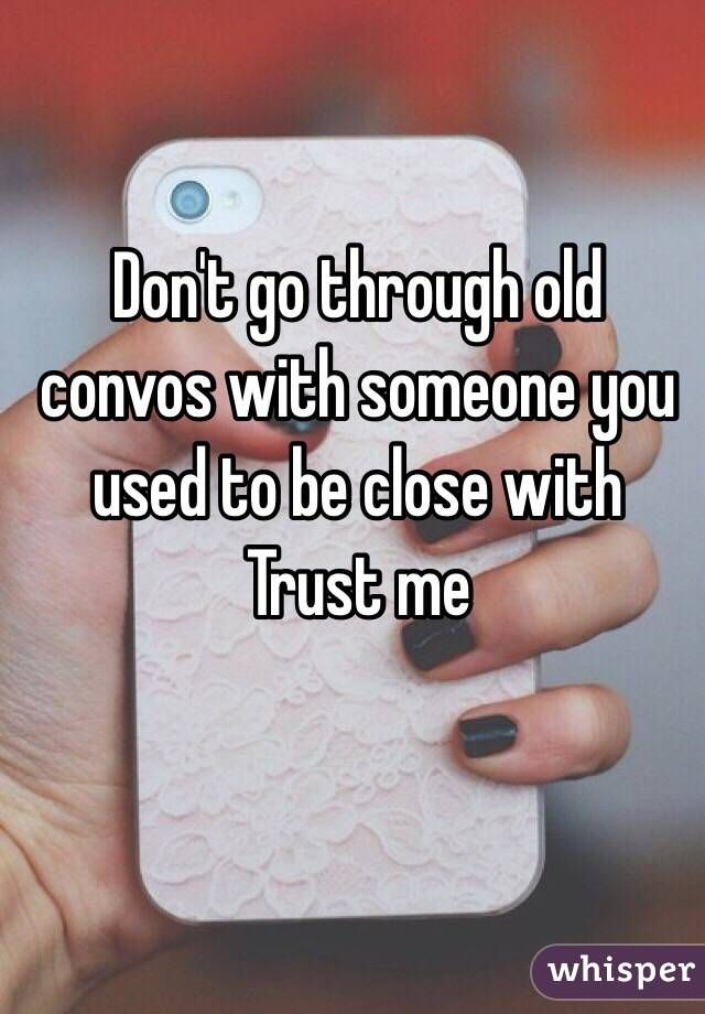 how to know to trust someone