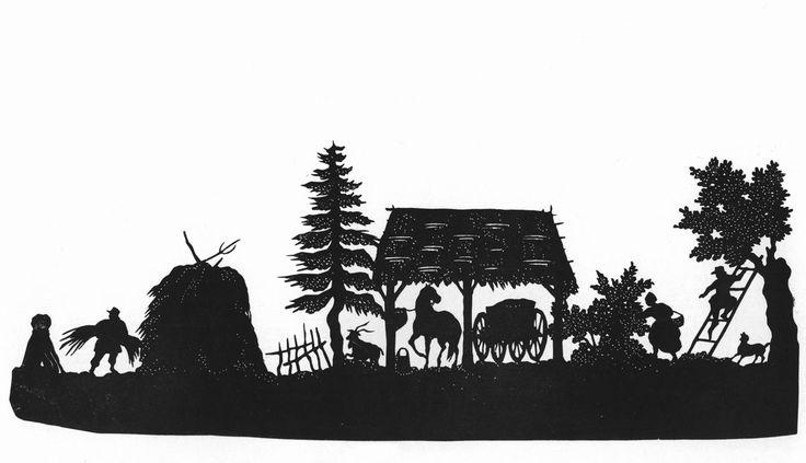 Толстой Фёдор Петрович (1783-1873), Сельская сцена. Осень