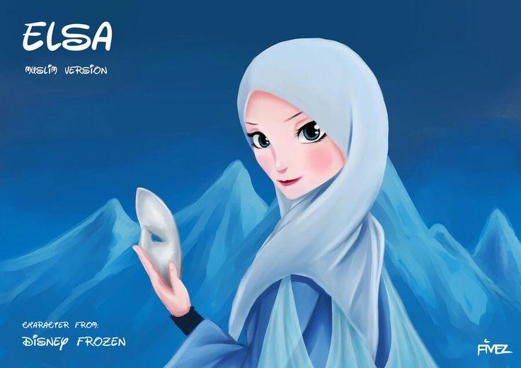 Tesettürlü Elsa (Disney Frozen)