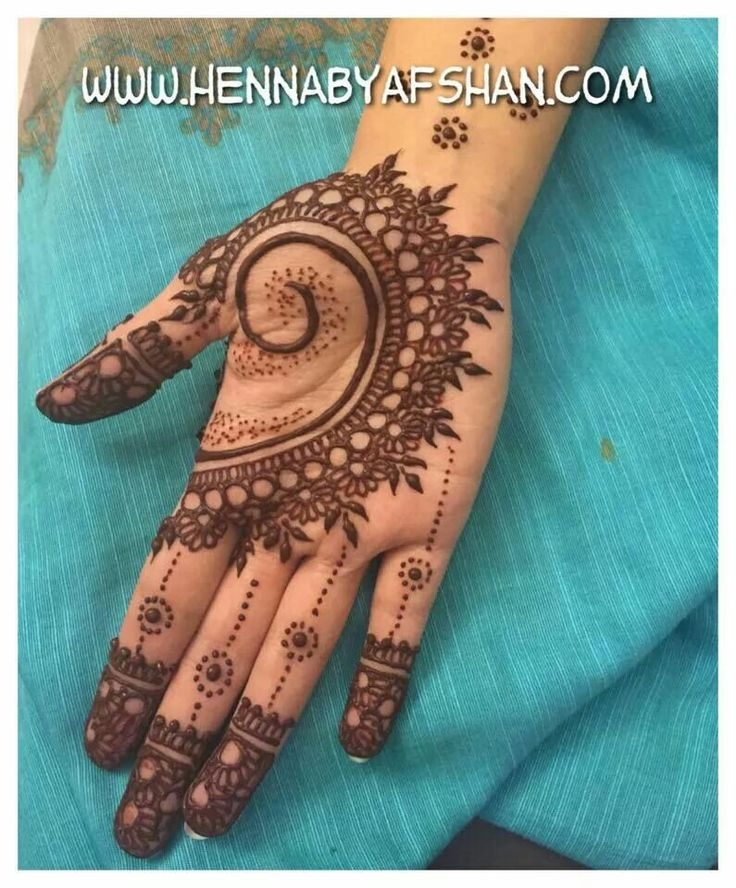 Henna Tattoo Designs Palm: Henna, The Palms And Palms On Pinterest
