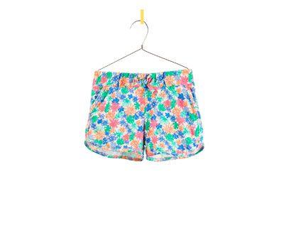 PRINTED SHORTS - Skirts and shorts - Girl - Kids | ZARA United States