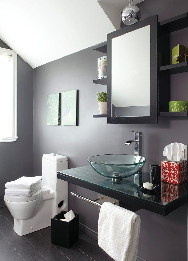 Les 25 meilleures id es de la cat gorie vasque en verre sur pinterest salle de bains en verre for Vasque salle de bain en verre