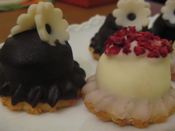 Sarah Bernhardt cakes - simply the best at Mette Blomsterberg in Copenhagen.