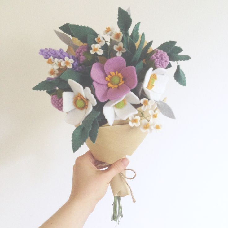 • Herb Garden • Felt flowers by Dear May •