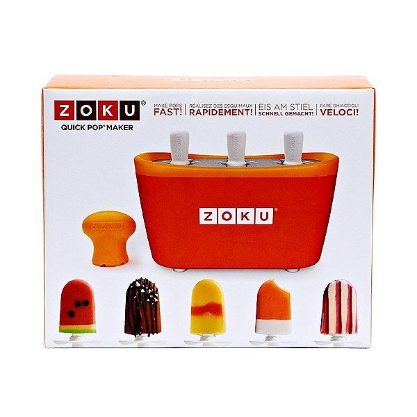 Make Popsicles in no time with the Zoku Quick Pop Maker.