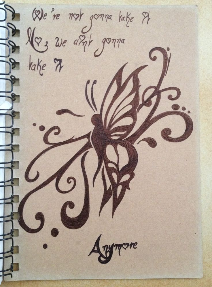 Tribal drawing ~ butterfly ~ Inspiration > https://youtu.be/CQ0ftoiIQxU -Coline210
