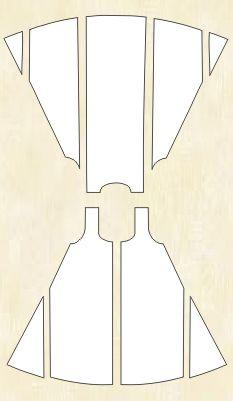 """Сарафаны в русском народном костюме, их крой и конструктивные особенности, типы сарафанов Интернет-магазин """"Выкройка на дом"""""""