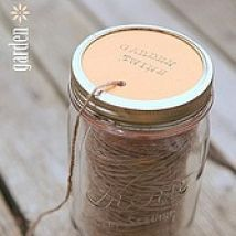 (1) Hometalk :: There are some really cool garden twine dispensers available at trendy…