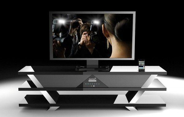 SoundVision SV-1600 : un meuble home cinema 2.1 - 599€
