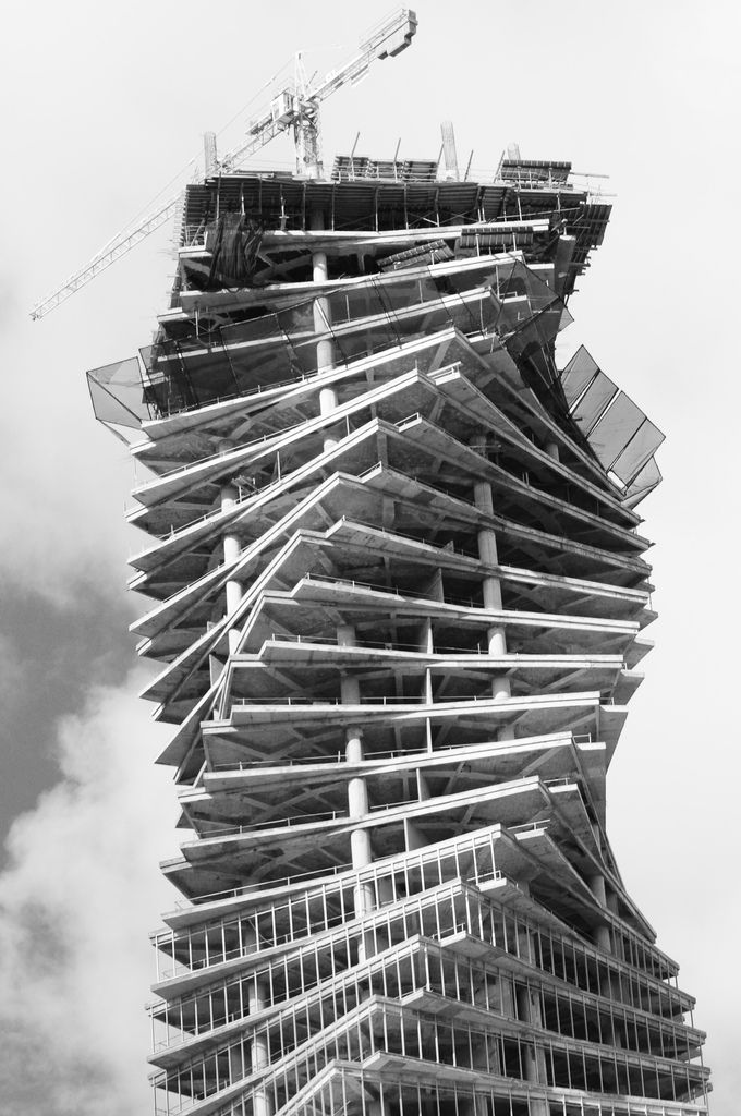 Revolution Tower in Panama. Spiral tower located in ...