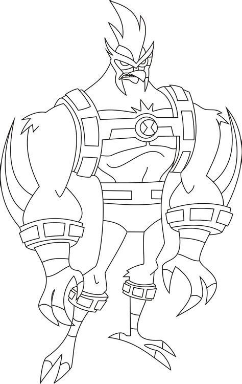Image result for Ben 10 Omniverse Coloring Pages ...