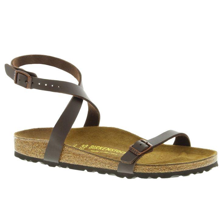 Birkenstock Women's Daloa Low Heel Comfort Mocha Sandals (R)