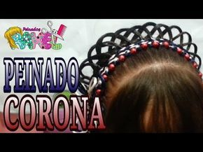 Peinado de Corona para Princesa y Primera Comunión – Princess or First Communio…