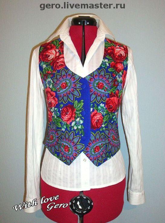 (74) Gallery.ru / Фото #97 - Пончо,куртки,жилеты,корсеты. - Markara