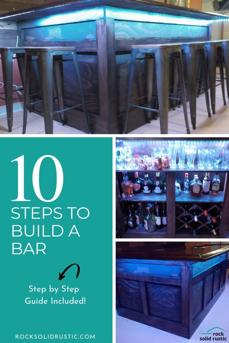 Home Bar Diy Step By Step Guide With Images Build Your Own