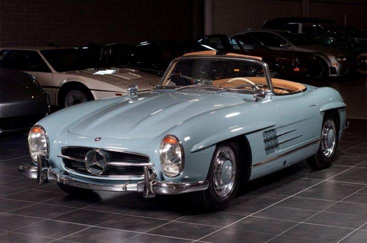 Mercedes Benz #300SL. Seen on: http://debates.coches.net