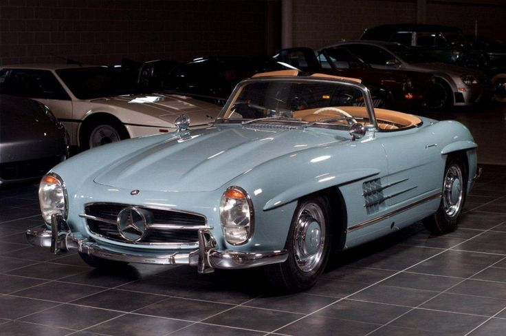 Mercedes Benz #300SL. Seen on: http://debates.coches.net