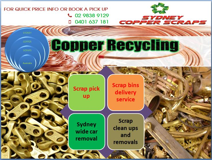 If you are in need of scrap copper recycling company for your scrap material, then Sydney Copper is the right place to cater your recycling needs. We service most of the NSW & ACT and have built good reputation among our clients. Call us today for more details about our services.
