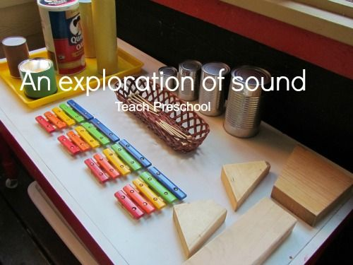 All About Me, Senses, Sound, An exploration of sound by Teach Preschool