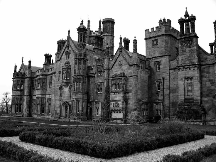 gothic castle photography | Margam Castle. Looks similar to how I picture the vamps castle!