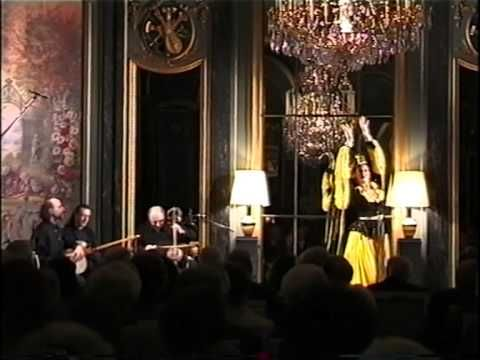 """Reng - Music & Dance from Iran. A concert and a dance show around the Silk Road, staged in a beautiful full mirrors / full crystal chandeliers baroque ballroom in Paris in 2002. This first pieces presents an iranian classical dance piece called Reng played and arranged by Anello""""Lalloji"""" Capuano and danced by Helene Eriksen. Reng can be also heard in the Anello Capuano's Oriental Dance CD """"OrienTales"""" now on sale on iTune Stores and other leading web's music stores."""