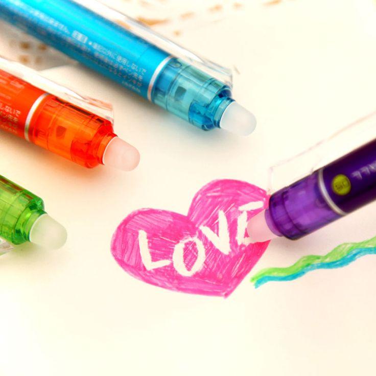 Ann Gel Pens Korea School Supplies Stationery Cute 0.5mm Friction Erasable Colored Gel Pen Erasable Pen